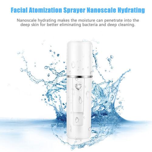 20ml Portable Nano Sprayer Zerstäubung USB Herr Gesichts Feuchtigkeitsspray DFO