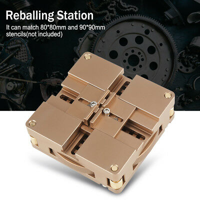 Ht-90x Soldering Bga Reballing Station Auto Magnet Stencil Solder Rework Kit Dd