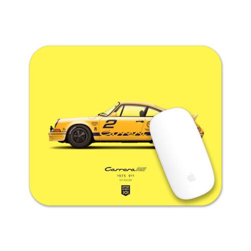 1973 Porsche 911 Carrera RS (GP Edition) illustration Mouse Pad