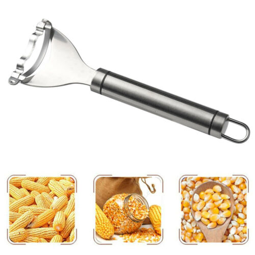 Stainless Steel Corn Cob Peeler Stripper Cutter Remover Kitchen Kernel Tool Best