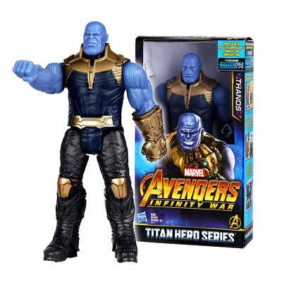 "12"" Marvel Avengers Infinity War Titan Hero Series Thanos Action Figure Toys UK"