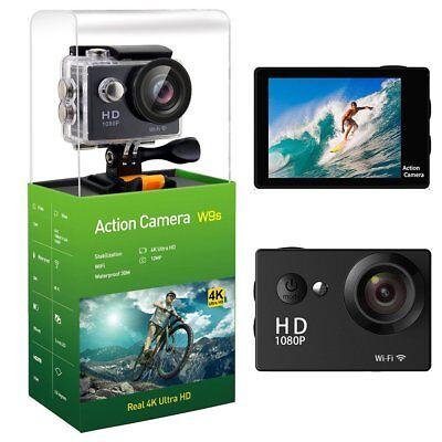 Wifi 4K Sj4000 12Mp Hd 1080P Sports Action Waterproof Camera   Accessories Gopro