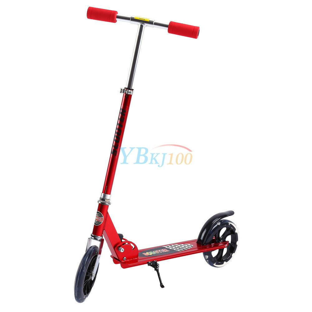 alu faltbar roller scooter cityroller streetsurfing bis 100kg h henverstellbar e ebay. Black Bedroom Furniture Sets. Home Design Ideas