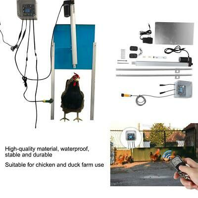 Automatic Chicken Coop Infrared Door Opener Remote Control Operated