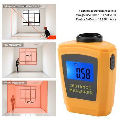 Digital Mini Laser Distance Meter Range Finder Measure Diastimeter M Ft