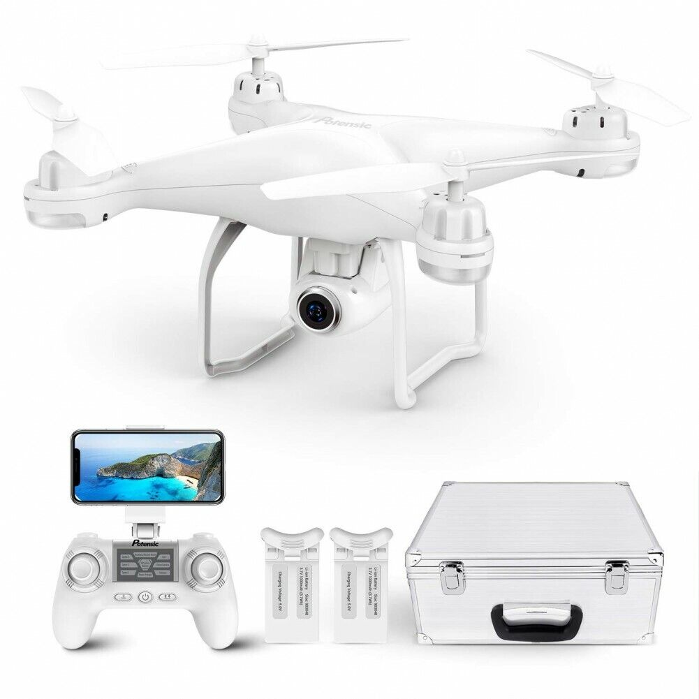 Potensic T25 Drone with 2K HD Camera FPV GPS WiFi Live Video RC Quadcopter Combo
