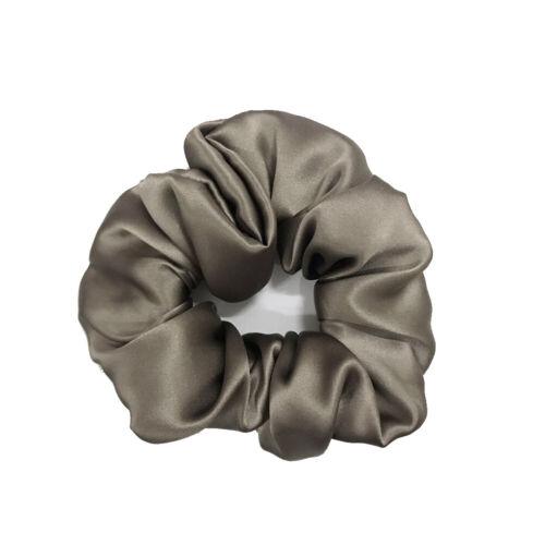 100 Silk Charmeuse Scrunchie Ponytail Holder Hair Ties