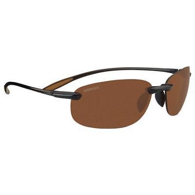 Serengeti Nuvino Polar Sunglasses (Shiny Brown / Plastic (Serengeti Polarized Sunglasses)