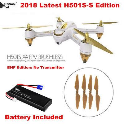 Hubsan H501S X4 Drone 5.8G FPV Brushless RC Quadcopter 1080P Headless Follow Me