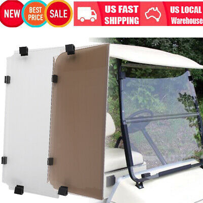 Golf Cart DS Tinted Windshield Golf Cart Fold Acrylic For Yamaha G22 /Precedent