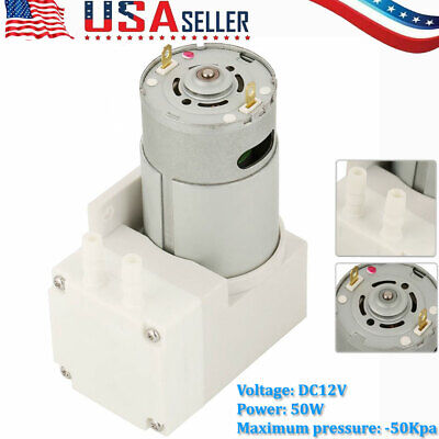 12v Air Suction Vacuum Pump Suction Vacuum Compressor Pump For Food Packaging