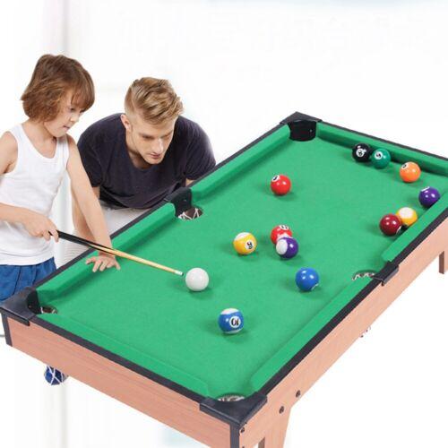 Kids Toys Mini Table Snooker Pool Billiards Set Xmas Indoor Tabletop Game Gift