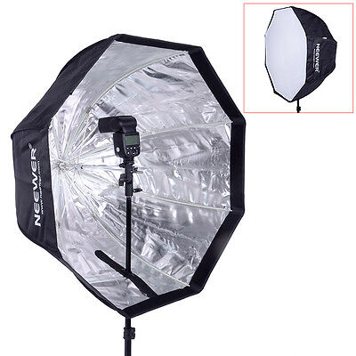 "Neewer 32""/80cm Speedlite Octagonal Umbrella Softbox for Portrait Photography"