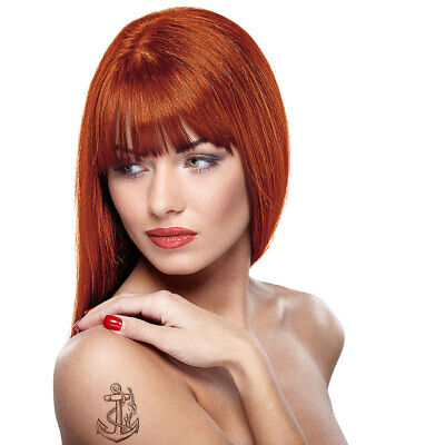Paintglow Orange Rebellious Colours Semi-Permanent Temporary Hair Dye - Temporary Orange Hair Dye
