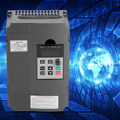 220v Single-phase Variable Frequency Drive Vfd Speed Controller For 3-phase Tim