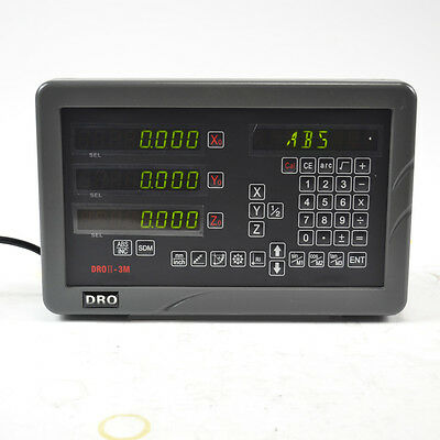 Sinpo 3 Axis Digital Readout Dro Kit For 9x42 Bridgeport Mill Milling Machine