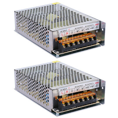 2x Ac 110v 220v To Dc 12v 8a 96w Volt Transformer Switch Power Supply Converter