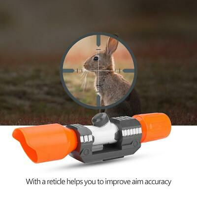 Modulus Plastic Scope Sight Attachment with Reticle Accessory for Nerf Gun Toy