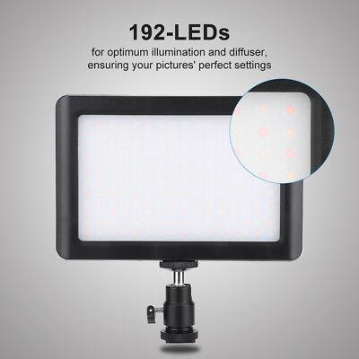 Ultradünnes 192 LED Fotografie Fill Light DSLR Kamera Fülllicht Videoleuchte
