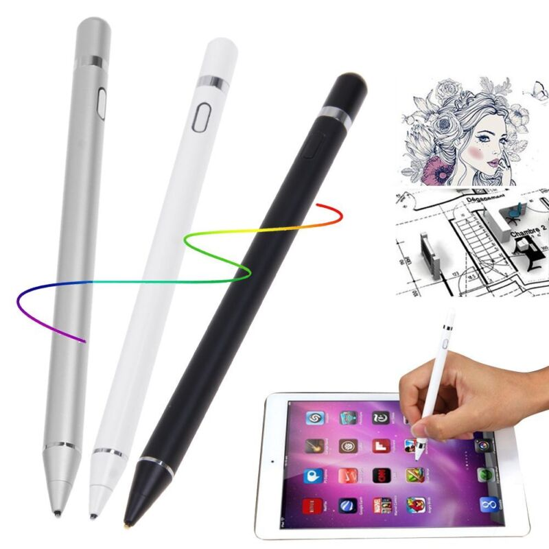 Capacitive Stylus Pencil Touch Screen Pen For Apple iPad iPhone Tablet Galaxy US