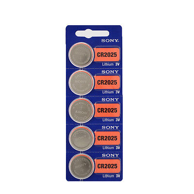 5pcs For Sony CR2032 3V Coin Batteries Button Cell Battery For Watch Calculator