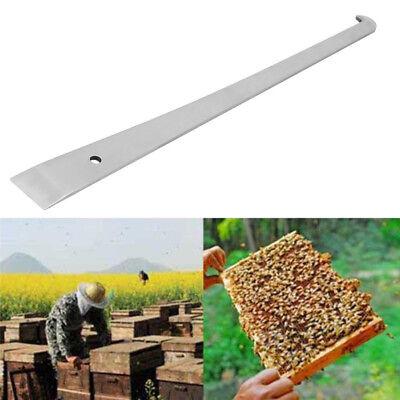 Beekeeper J Shaped Hive Beekeeping Bee Hook Equip Stainless Steel Scraper Tools