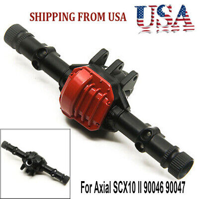 Alloy Front Axle Rear Axle Housing For Axial SCX10 II 90046 90047 RC 1/10 Car US