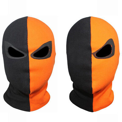 Prop Deathstroke Terminator Slade Cosplay Mask Balaclava Hood Face Halloween (Deathstroke Mask Halloween)