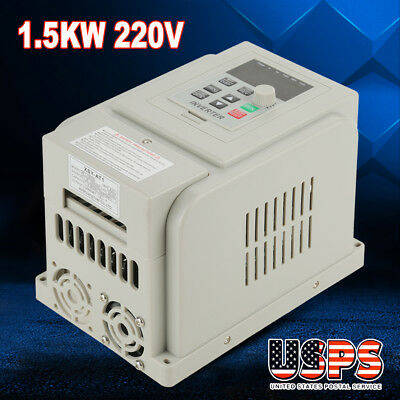220v 8a 1.5kw Vfd Variable Frequency Drive Inverter Speed Controller Converter S