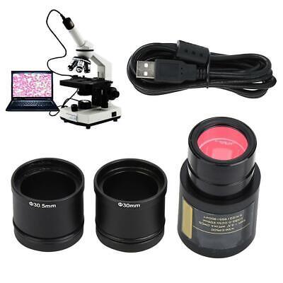 5.0mp Microscope Electronic Eyepiece Usb Digital Cmos Camera Accessories Set Usb