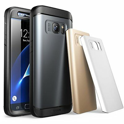 Galaxy S7 Case, SUPCASE Water Resistant Rugged Case-Screen Protector- 3 Colors