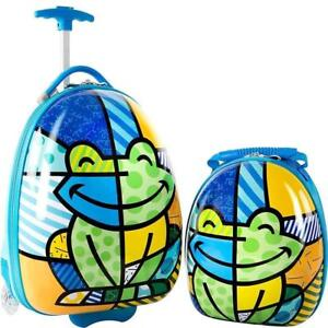 Heys America Unisex Britto Kids Luggage with Backpack