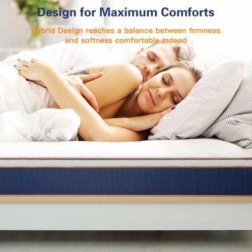 modern 10 inch spring hybrid mattress latex
