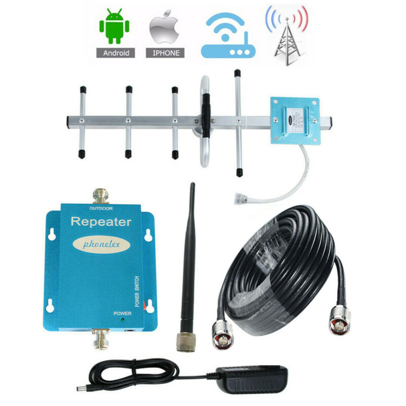 GSM 850MHz Cell Phone Signal Booster AT&T Verizon US Cellular 2G 3G 4G Amplifier