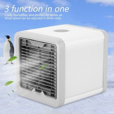 US Portable Mini Air Conditioner Air Conditioning Cooling Fa