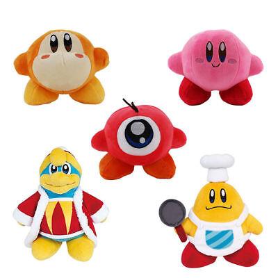 Game Kirby King Dedede Waddle Dee Doo Chef Kawasaki Plush Doll Figure Toys