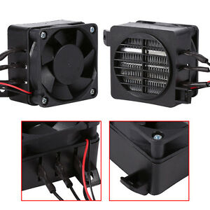 100W 12V PTC Car Fan Air Heater Constant Temperature Heating Element Heaters