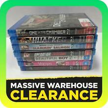 BULK LOT OF BLU RAYS X 7 - ALL BRAND NEW & SEALED! Tullamarine Hume Area Preview