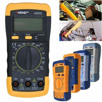 A830l Lcd Digital Multimeter Dc Ac Voltage Diode Freguency Test Multitester