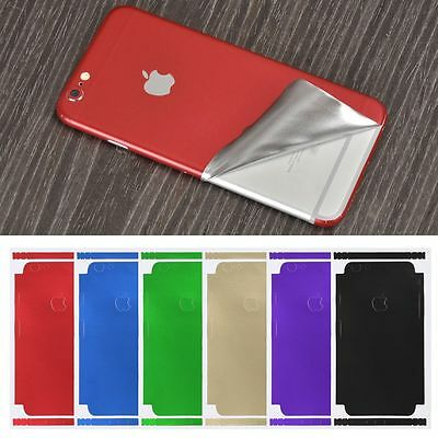 Luxury Film Wrap Decal Skin Case Sticker PVC Back Cover For iPhone X 8/7/6s -
