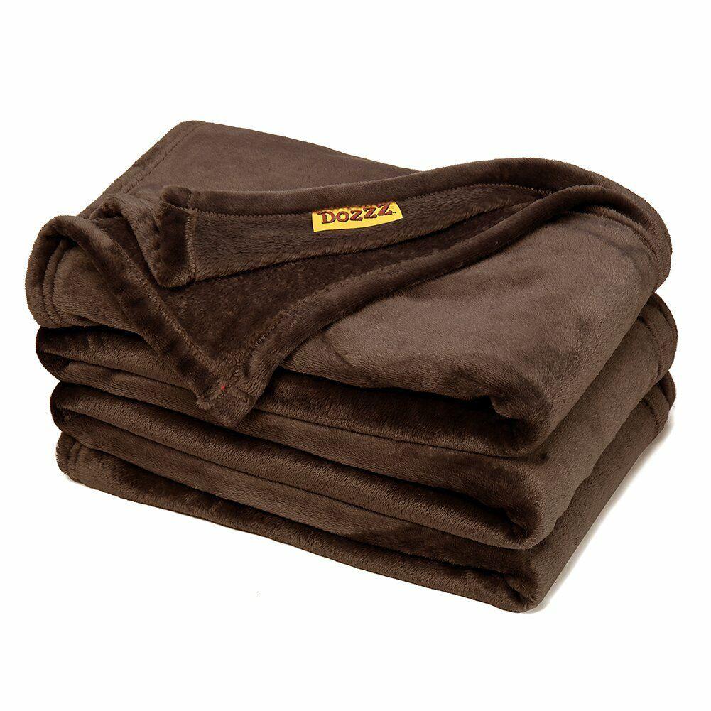 "78"" x 58""  Flannel Fleece Plush Soft Throw Blanket for Dorm"