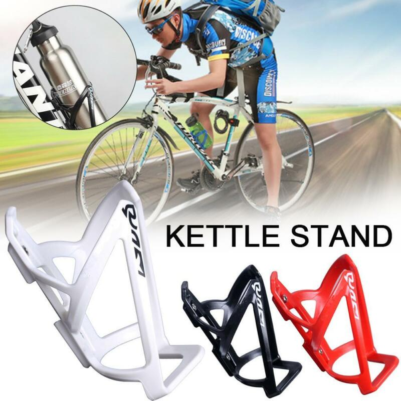 Bike Bicycle Plastic Water Bottle Holder Cage Rack Cycling Accessories C6G8