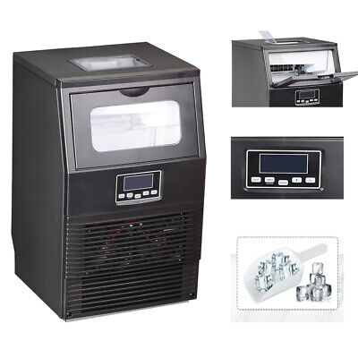 Smad Commercial Auto Ice Maker Built-in Undercounter 88 Lbsday Bar Restaurant