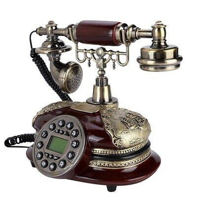 Retro Telefon Festnetz Vintage FSK / DTMF-Dualsystem Festnetztelefon