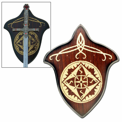 Lord of the Rings Fighting Knives of Legolas LOTR Sword Universal Wall Plaque