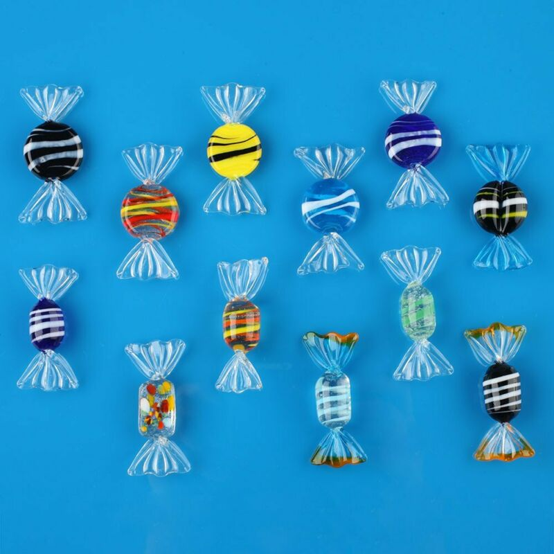 Vintage Murano Glass Sweets Wedding Party Candy Christmas Decorations Nice12pk