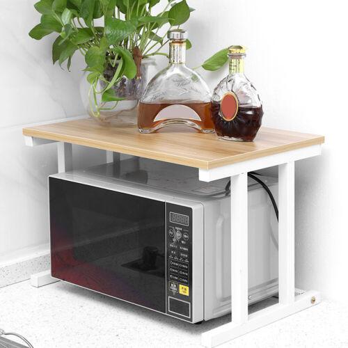Küchenregal Ablage Organizer Mikrowellenhalter Gewürzregal Küchengestell TOP
