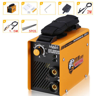 Portable Zx7-200 Mini Handheld Mma Welder Igbt Ac 220v 200a Arc Welding Machine