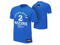 WWE Charlotte Flair 2nd Nature Official Authentic T-Shirt | Mens, Large, New