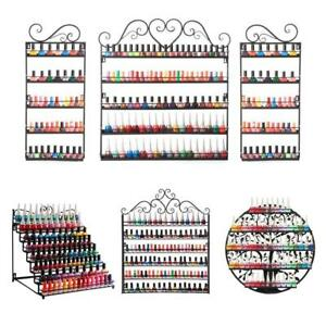 Big Metal Nail Polish Display Organizer  - 5 Combos to choose from  * BRAND NEW - FREE SHIPPING